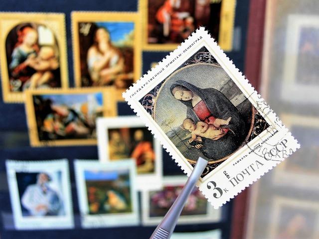 マリア様の切手