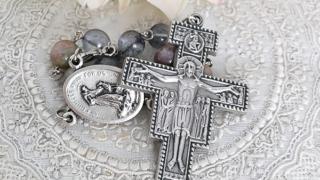 平和の祈りのミニロザリオ