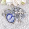 聖母子のロザリオ(ライトサファイア)