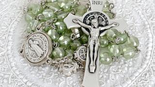 聖ベネディクトのロザリオ(グリーン)