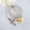 数珠に見えるロザリオ(取り外せるタイプ)