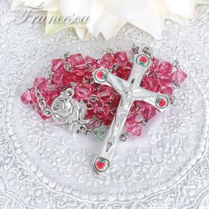 スワロフスキー 野バラのロザリオ
