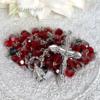 スワロフスキー 真紅のロザリオ