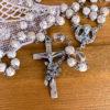 聖テレジアのロザリオ(ホワイト&クリスタル)
